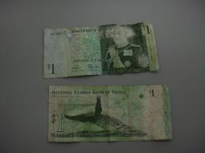 トンガ王国のお金