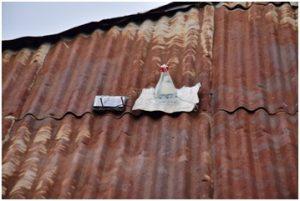 屋根上電気