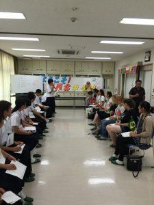 中学生交流5